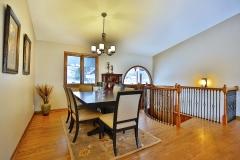 Split Level Dining Room Area